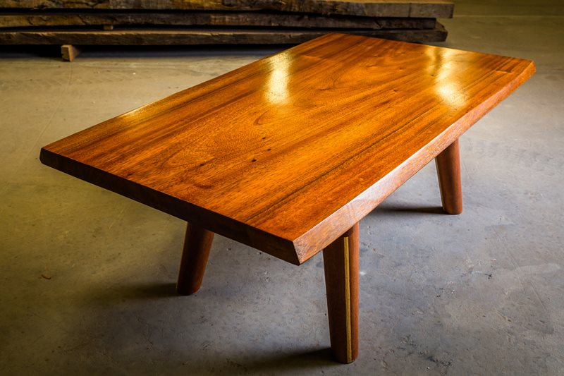 White Mahogany Coffee Table