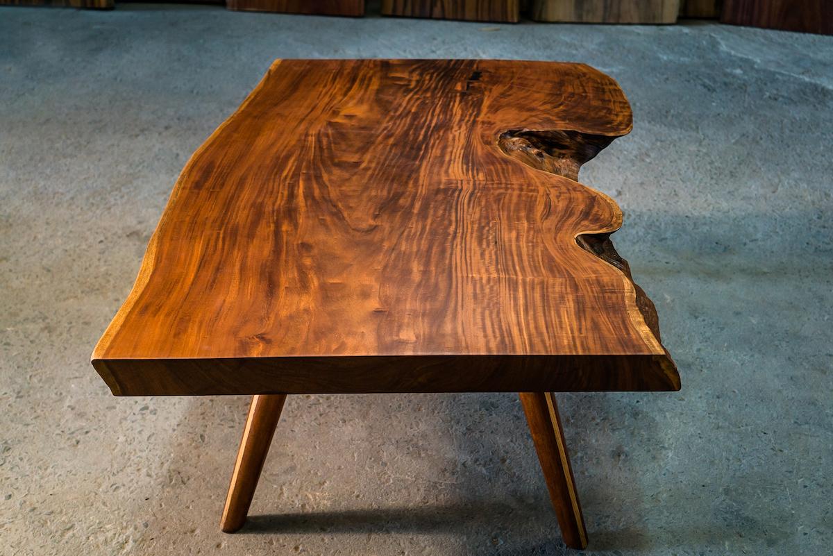 Tigerwood coffee table